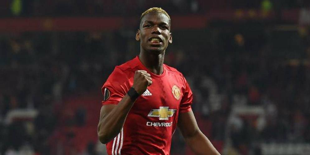 Dukungian Mourinho Kuatkan Mental Pogba di ManchesterUnited